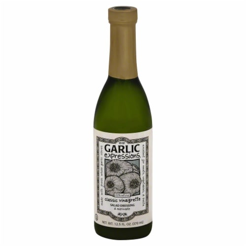 Garlic Expressions Classic Vinaigrette Salad Dressing Perspective: front