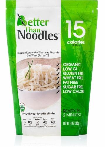 Better Than  Noodles™ Organic Konnyaku Noodles Gluten Free Perspective: front