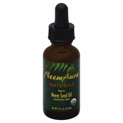 Neem Aura Naturals Organic Neem Seed Oil Perspective: front