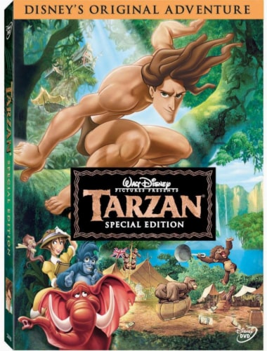 Tarzan (1999 - DVD - Special Edition) Perspective: front