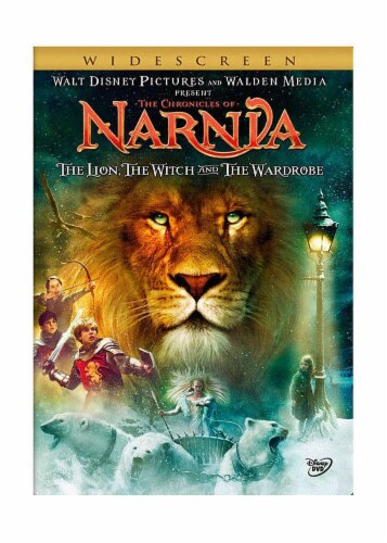 The Chronicles of Narnia: The Lion The Witch and The Wardrobe (2005 - DVD) Perspective: front
