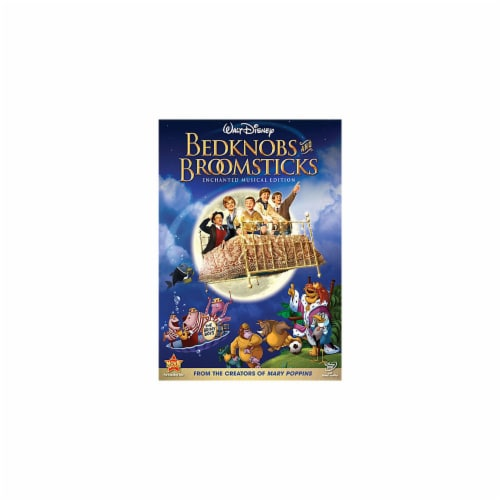 Bedknobs and Broomsticks (1971 - DVD) Perspective: front