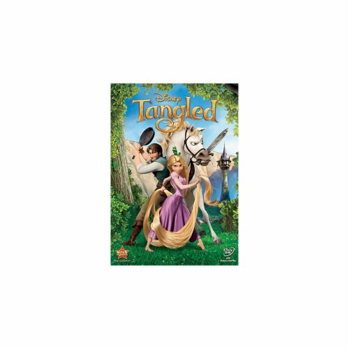 Tangled (2008 - DVD) Perspective: front