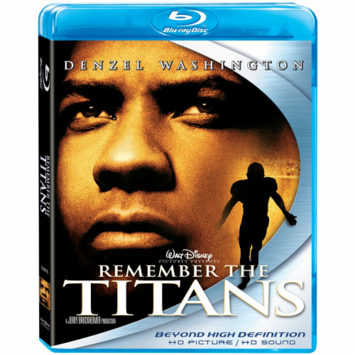 Remember The Titans (2000 - Blu-Ray) Perspective: front