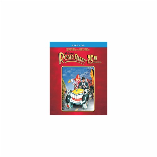 Who Framed Roger Rabbit 25th Anniversary Edition (2013 - DVD/Blu-Ray) Perspective: front