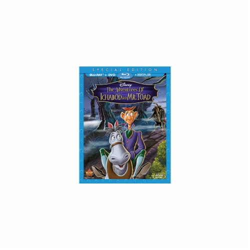 The Adventures of Ichabod & Mr. Toad (Blu-Ray/DVD/Digital) Perspective: front