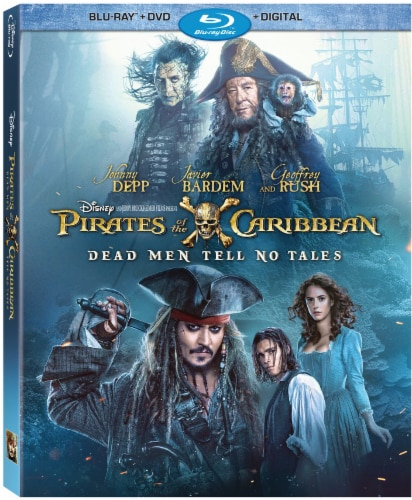 Pirates Of The Caribbean: Dead Men Tell No Tales (Blu-ray/DVD/Digital Copy) Perspective: front