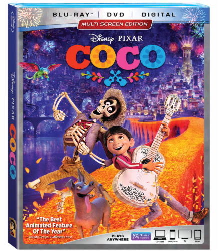 COCO (2017 - Blu-ray/DVD/Digital HD) Perspective: front