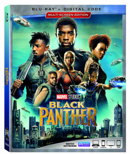 Black Panther (2018 - Blu-ray/DVD/Digital HD) Perspective: front