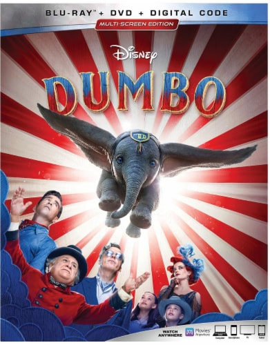 Dumbo Live Action (2019 - Blu-Ray/DVD/Digital) Perspective: front