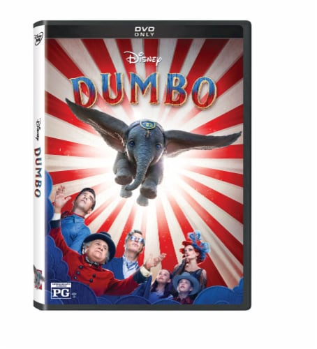 Dumbo Live Action (2019 - DVD) Perspective: front