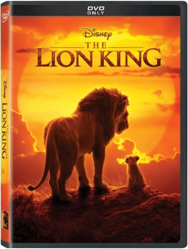 The Lion King (2019 - DVD) Perspective: front