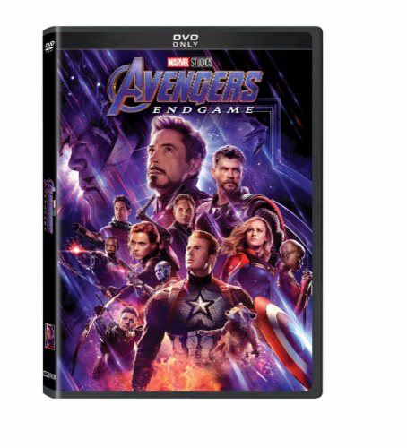 Avengers: Endgame (2019 - DVD) Perspective: front