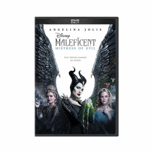 Maleficent: Mistress of Evil (2019 - DVD) Perspective: front