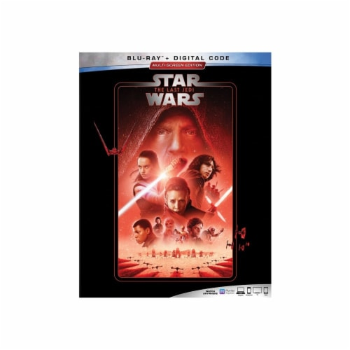 Star Wars: The Last Jedi (2018 - Blu-Ray & Digital Code) Perspective: front