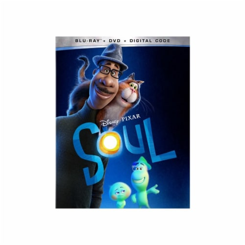 Soul (DVD + Blu-Ray + Digital Copy)  Available 3/23/2021 Perspective: front