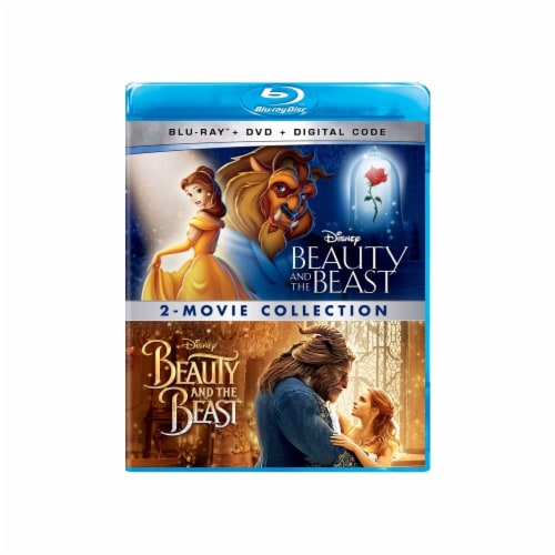 Beauty and the Beast 2-Movie Collection (Blu-Ray/DVD/Digital Code) Perspective: front