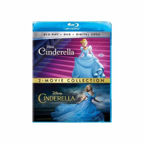 Cinderella 2-Movie Collection (Blu-Ray/DVD/Digital Code) Perspective: front