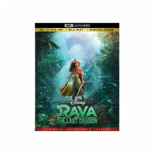 Raya and the Last Dragon (Blu-Ray) Perspective: front