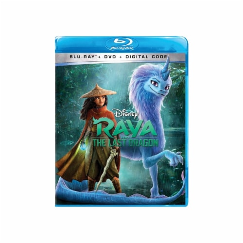 Raya and the Last Dragon (2021 - DVD + Blu-Ray) Perspective: front