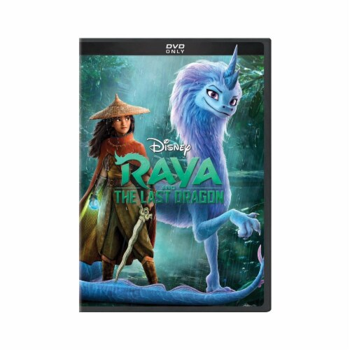 Raya and the Last Dragon (2021 - DVD) Perspective: front