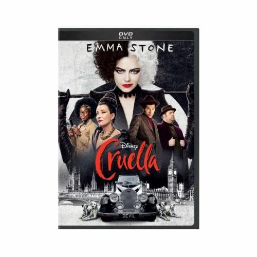 Cruella (DVD) Perspective: front