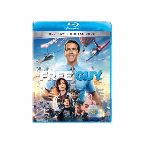 Free Guy (Blu-ray/Digital Copy) Available for Preorder to Ship 10/12 Perspective: front