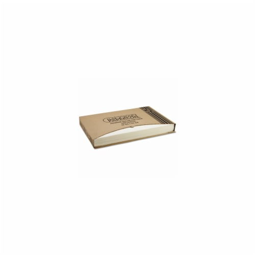 Bgc 030001 Grease-Proof Quilon Pan Liners - Natural Perspective: front