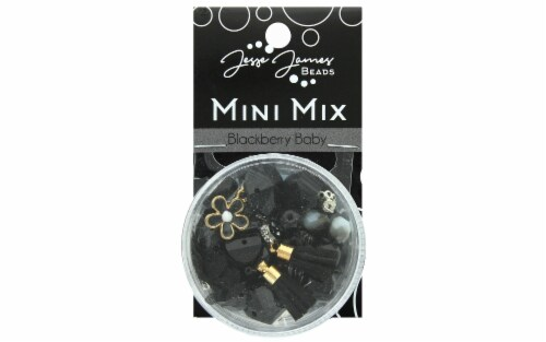 Jesse James Bead Mini Mix Blackberry Baby Perspective: front