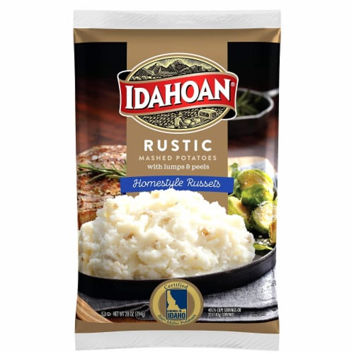Idahoan Rustic Homestyle Russets, 28oz (Pack of 8) Perspective: front