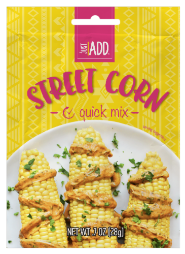 Just Add Street Corn Quick Mix Perspective: front