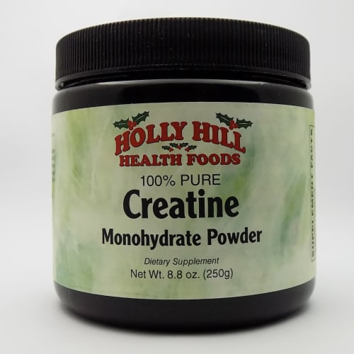 Holly Hill Health Foods, 100% Pure Creatine Monohydrate Powder, 8.8 Ounces Perspective: front