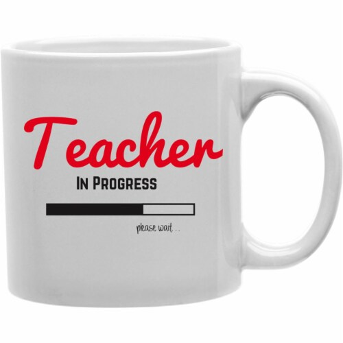 Imaginarium Goods CMG11-IGC-PLSTEACH Plsteach - Teacher In Progress Please Wait Mug Perspective: front