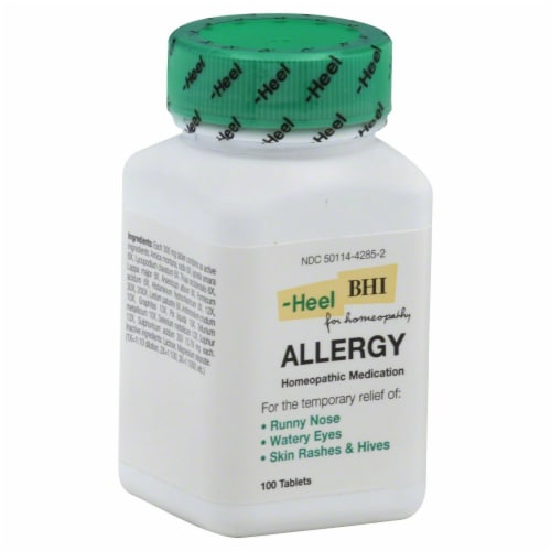 BHI Allergy Relief Perspective: front