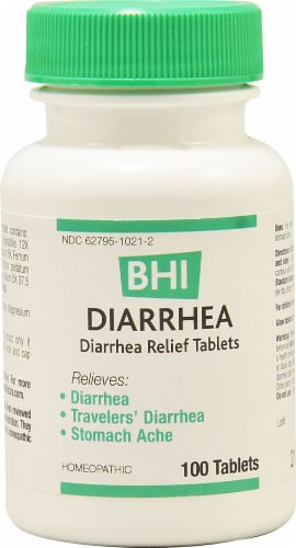 MediNatura  BHI Diarrhea Homeopathic Medication Perspective: front
