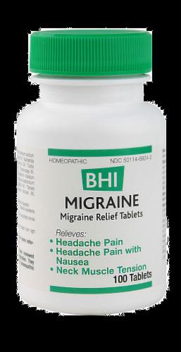 BHI Migraine Relief Perspective: front