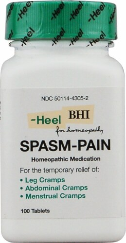 MediNatura  BHI Spasm-Pain Homeopathic Medication Perspective: front
