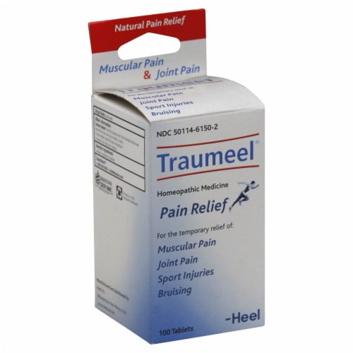Bhi Traumeel Pain Tablet Perspective: front