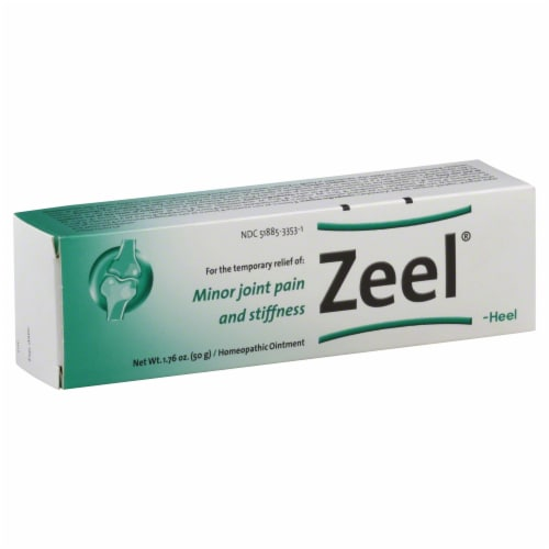 Zeel Heel Mobility Ointment Perspective: front