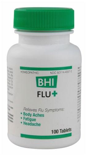 MediNatura  BHI FluPlus Homeopathic Perspective: front