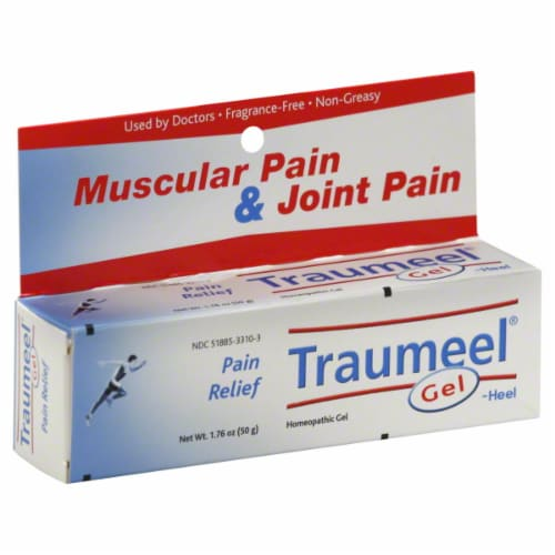 Traumeel Muscular & Joint Pain Relief Gel Perspective: front