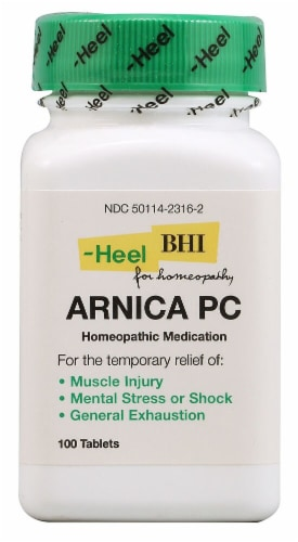 MediNatura  BHI Arnica Pain Relief Tablets Perspective: front