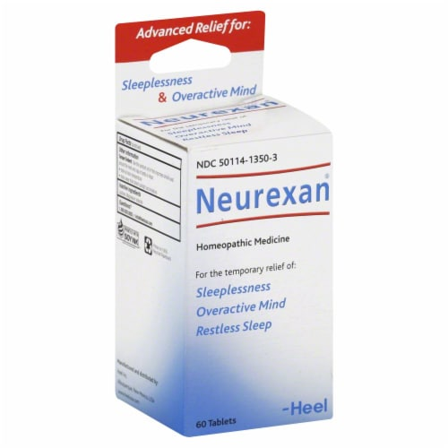 Wellmind Neurexan Tablets Perspective: front