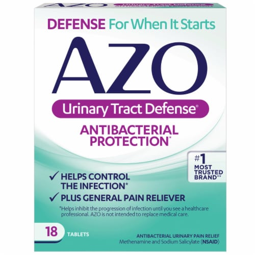 Azo Urinary Tract Defense Antibacterial Protection Perspective: front