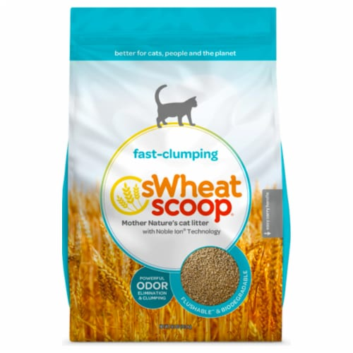 Swheat Scoop Cat Litter - Regular - Case of 1 - 12 lb. Perspective: front