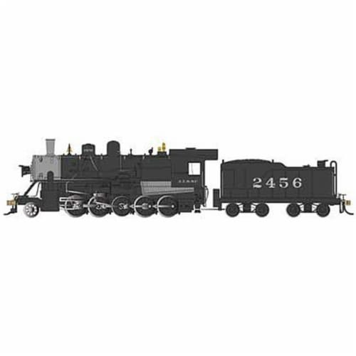 Bachmann BAC85401 HO Scale Baldwin ATSF 2-10-0 Russian Decapod Santa No.2456 Model Train Perspective: front