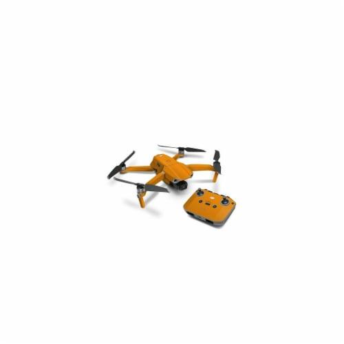 DecalGirl DJIMA2-SS-ORN DJI Mavic Air 2 Skin - Solid State Orange Perspective: front