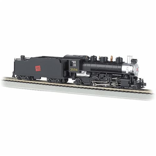 Bachmann BAC51505 S Scale Prairie 2-6-2 Model Train, Green Perspective: front