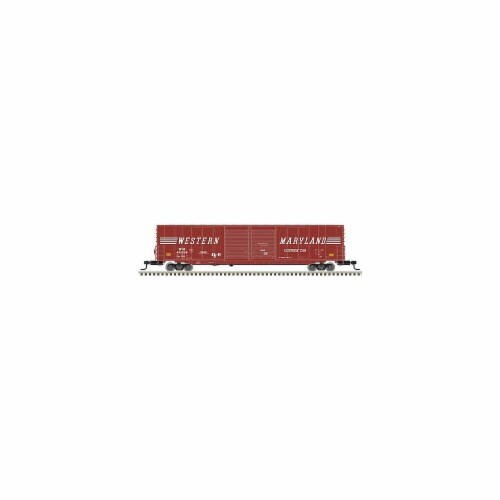 Atlas ATL50004974 N Scale Union Pacific Bay Window Caboose No. 24567 Model Train Perspective: front