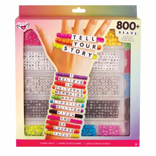 Fashion Angels Tell Your Story Large Alphabet Bead Kit Perspective: front